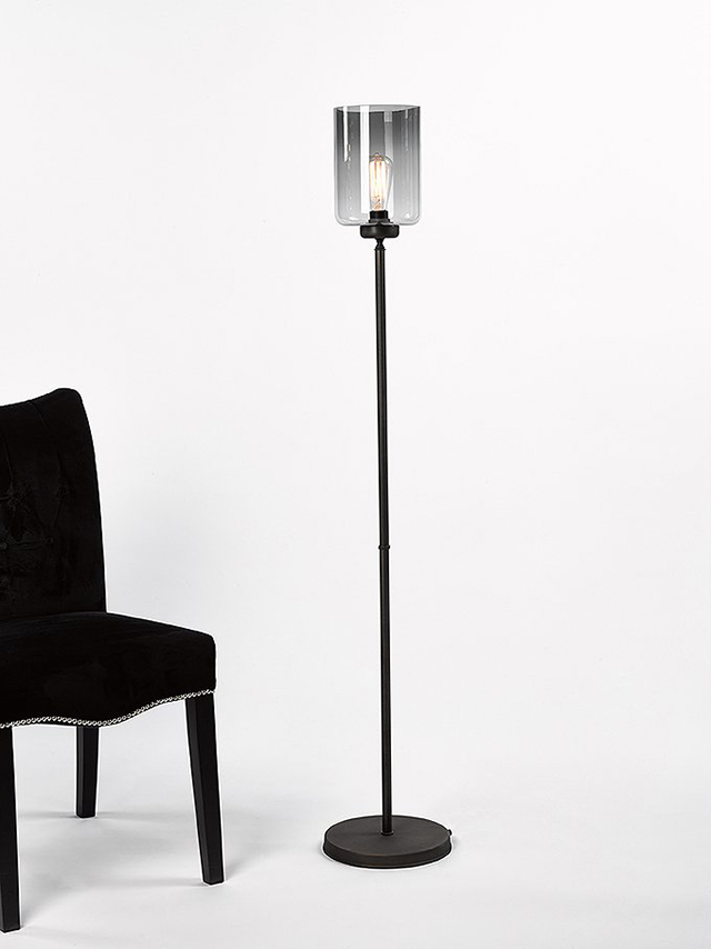 Lampadair Donker Brons P1