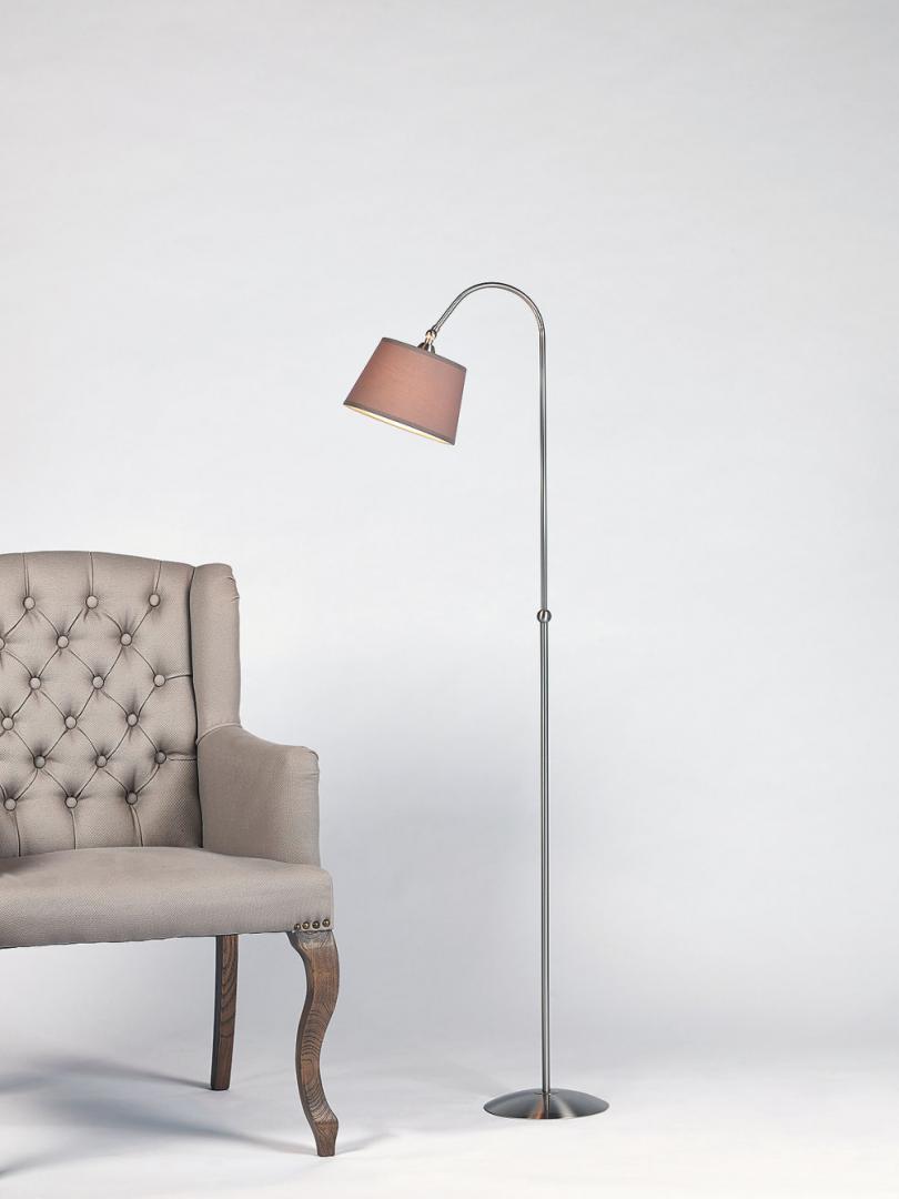 Lampadair Metaal NIKKEL-ROEST