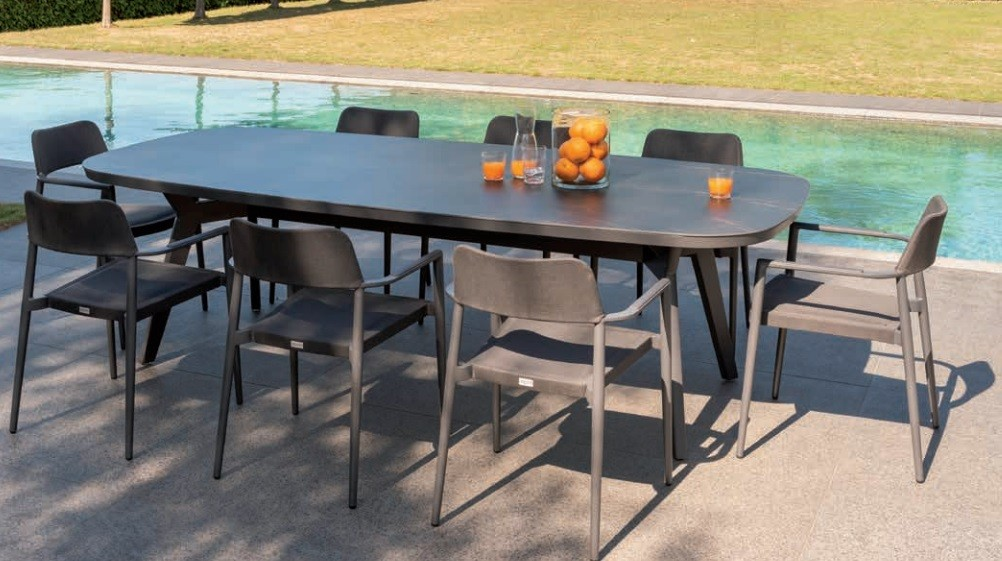 Table en céramique + fauteuils Chili