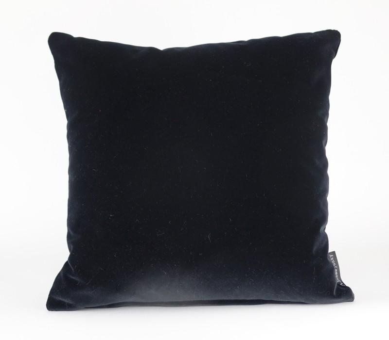 Kussen Velvet Black