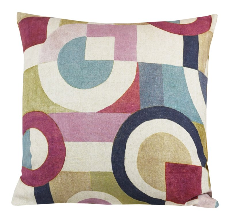 Coussin Abstract Puzzle Marshmallow