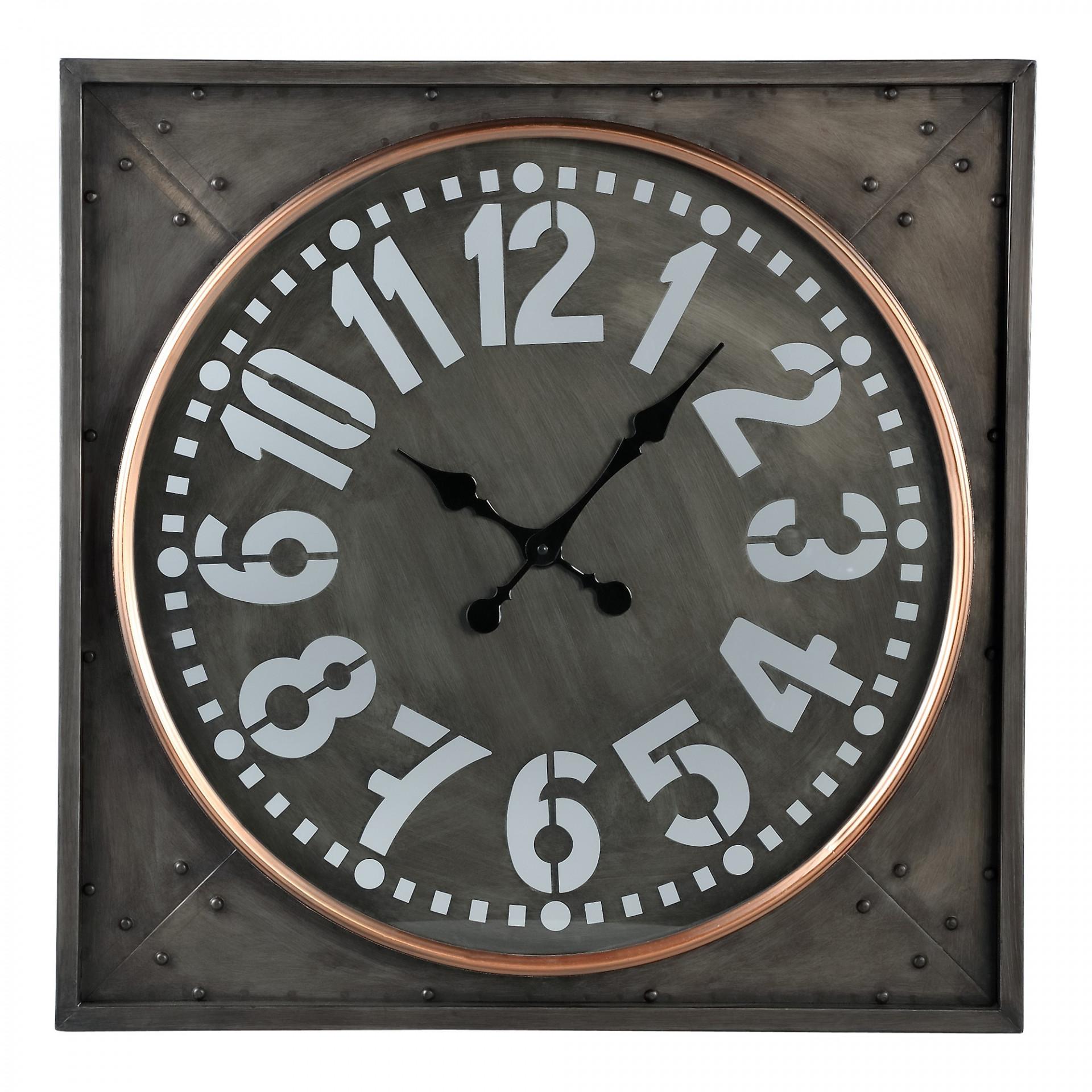 Clock Devan noir