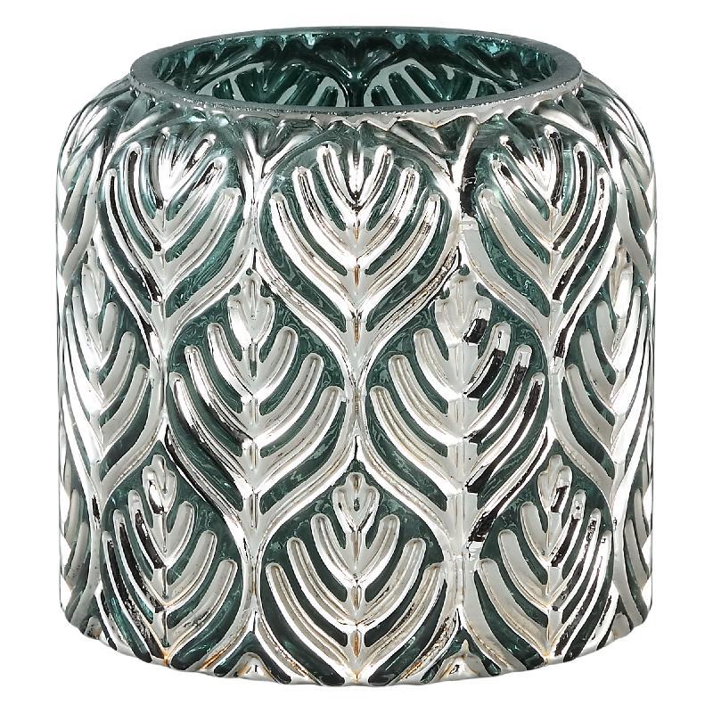 Dano Silver Glass Stormlight Votive Straight S