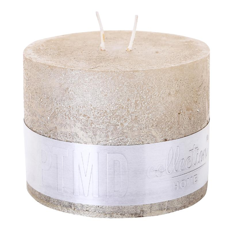 Rustic Gold Candle