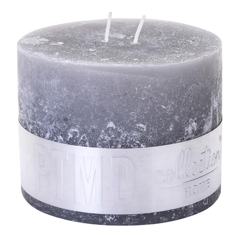 Rustic Suede Grey Candle
