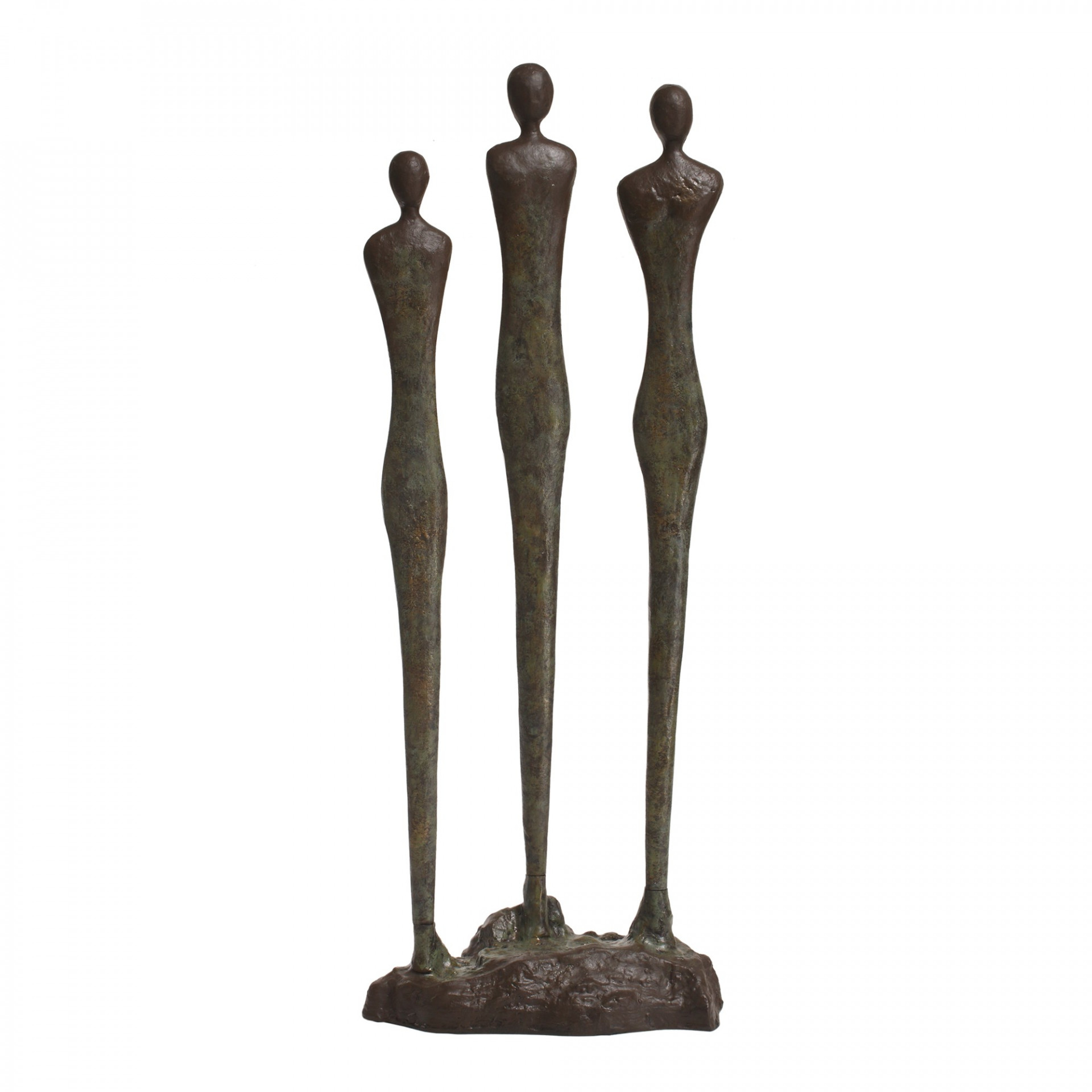 Roux Bronze Melange Alu 3 women Statue
