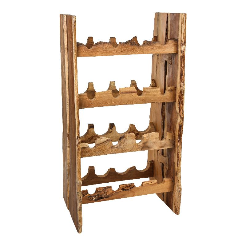 Aria natural Juar wood standing Rack S