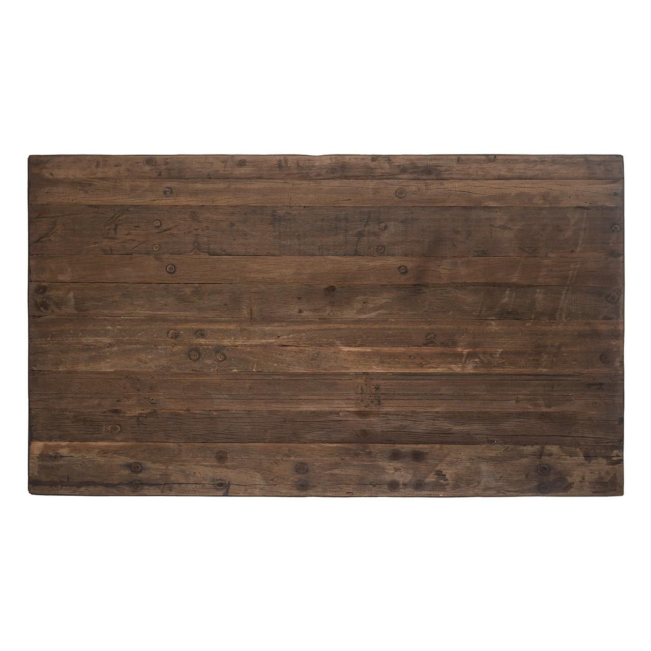 Detail massief hout Collectie Raffles