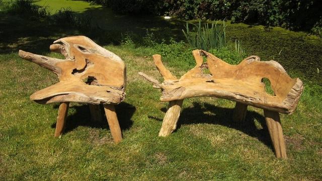 Decoratieve meubelen in wortelhout ontdekken bij houten meubelen