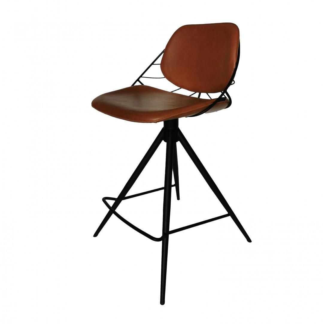 Chaise de bar Rafael rotation